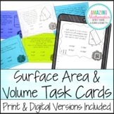 Surface Area & Volume Task Cards