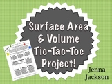 Surface Area & Volume Tic-Tac-Toe Project