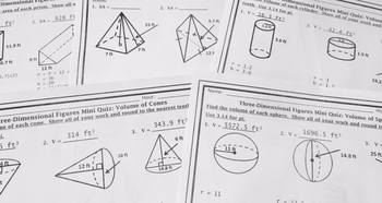 Unit 11 Volume And Surface Area Answer Ncert Solutions Class 9 Maths Chapter 13 Surface Area And Volume Click Here To Download