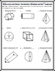 Surface Area & Volume - Unit 11 - Introduction to 3-D figu