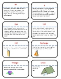Surface Area, Volume, and Cross Section Scavenger Hunt