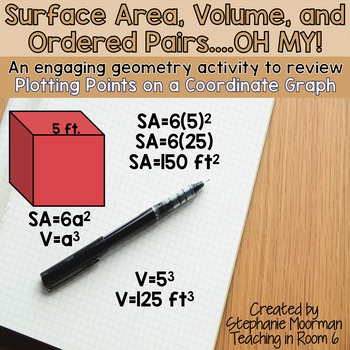 Surface Area, Volume, and Ordered Pairs....Oh My!