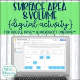 Surface Area & Volume of Prisms and Cylinders DIGITAL Activity for Google Drive™
