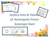 Surface Area & Volume of Rectangular Prisms Scavenger Hunt