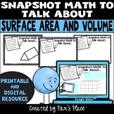 Surface Area and Volume Math Talk