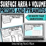 Surface Area and Volume Math Talk