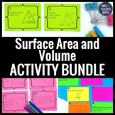Surface Area and Volume Activity Bundle