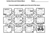 Surface Area and Volume Activity: Math Maze