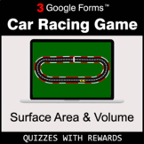 Surface Area and Volume | Car Racing Game | Google Forms |