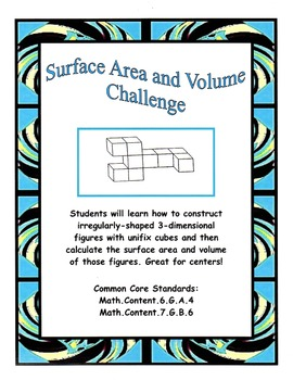 Surface Area and Volume Challenge