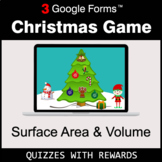 Surface Area and Volume   Christmas Decoration Game   Goog