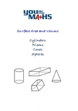 Surface Area and Volume - Cylinders, Prisms, Cones and Spheres