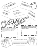 Surface Area and Volume Doodle Notes Bundle
