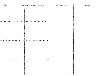 Surface Area and Volume Foldables