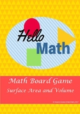 Surface Area and Volume Geometry Board Game