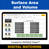 Surface Area and Volume - Google Slides - Distance Learnin