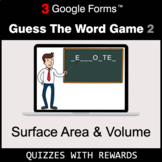 Surface Area and Volume | Guess The Word Game | Google For