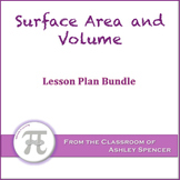 Surface Area and Volume Lesson Plan Bundle