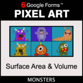 Surface Area and Volume - Pixel Art Math | Google Forms