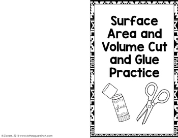 Surface Area and Volume Practice
