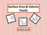 Surface Area and Volume Puzzle (Digital/PDF)