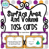 Surface Area and Volume Task Cards: 7.G.6