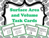Surface Area and Volume Task Cards { Math Center }