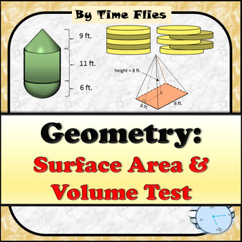 Surface Area and Volume Test