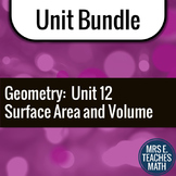 Surface Area and Volume Unit Bundle