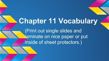 Surface Area and Volume Vocabulary  Posters