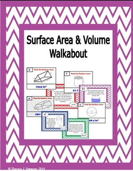 Surface Area and Volume Walkabout