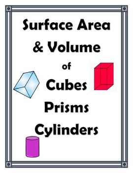 SURFACE AREA AND VOLUME UNIT