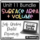 Surface Area and Volume- for use with Google Forms | Distance Learning
