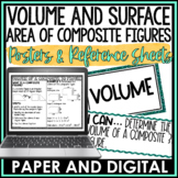 Surface Area and Volume of Composite Figures Posters | Distance Learning