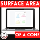 Surface Area and Volume of Conical Frustums Google Slides
