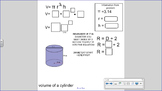 Surface Area and Volume of Cylinder and Rectangular Prism