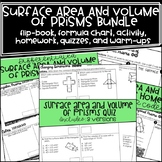 Surface Area and Volume of Prisms Bundle