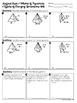 Surface Area and Volume of Pyramids Homework