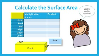 Surface Area and Volume of Rectangular Prisms