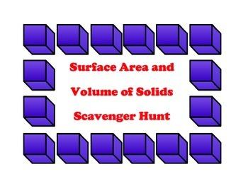 Surface Area and Volume of Solids 7G6