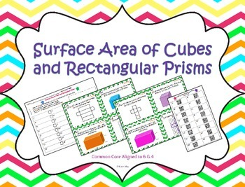 Surface Area of Cubes and Rectangular Prisms ~Aigned to CC