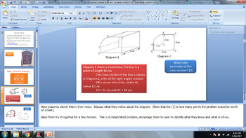 Surface Area of Curved Surfaces and Volume - Geometry - Cambridge IGCSE Style