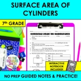 Surface Area of Cylinders Notes