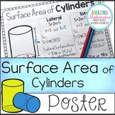Surface Area of Cylinders Poster