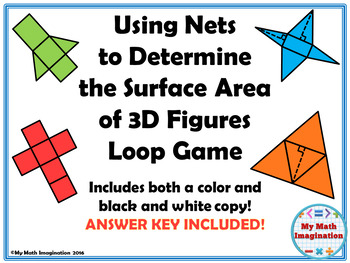 Surface Area of Nets Loop Game