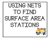 Surface Area of Nets Station Activity