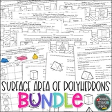Surface Area of Polyhedrons Bundle