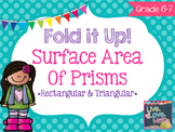 Surface Area of Prisms Foldable Notes