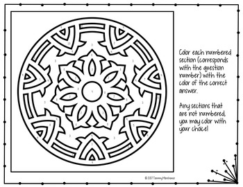 Surface Area of Prisms Coloring Page