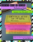 Surface Area of Prisms Foldable